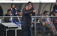 Trainer Dimitrios Grammozis (SV Darmstadt 98) - 04.10.2019: SV Darmstadt 98 vs. Karlsruher SC, Stadion am Boellenfalltor, 2. Bundesliga<br /> <br /> DISCLAIMER: <br /> DFL regulations prohibit any use of photographs as image sequences and/or quasi-video.