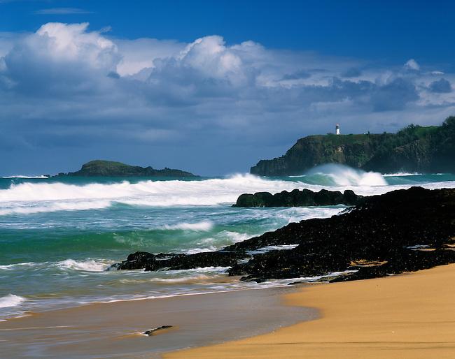 Kilauea lighthouse; Secret Beach; Kauai; Hawaii