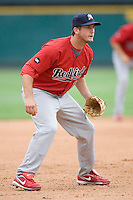 Freese, David 0132.jpg. Memphis Redbirds at Round Rock Express in Pacific Coast League Baseball. Dell Diamond on April 26th 2009 in Round Rock, Texas. Photo by Andrew Woolley.