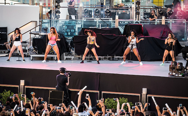 LAS VEGAS, NV - May 15, 2016: ***HOUSE COVERAGE*** Fifth Harmony performing at CBS Radio Presents: SPF at The Boulevard Pool at The Cosmopolitan of Las Vegas in Las vegas, NV on May 15, 2016. Credit: Erik Kabik Photography/ MediaPunch