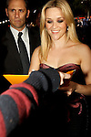 "REESE WITHERSPOON. Signing Autographs at the World Premiere of ""How Do You Know"" at the Regency Village Theatre. Los Angeles, CA, USA. December 13, 2010. ©CelphImage"