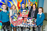 Winners of the Mercy Mounthawk Christmas Hampers on Monday Pictured TJ O'Sullivan, Carmel Sheehan, Ardfert, John O'Sullivan, Alderwood Road, John O'Rourke, Principal, Mags Hussey, Ardfert, Katie Hussey