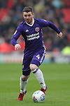 John Fleck of Sheffield Utd  during the championship match at the Oakwell Stadium, Barnsley. Picture date 7th April 2018. Picture credit should read: Simon Bellis/Sportimage