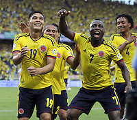 Colombia vs Perú eliminatorias Brasil 2014 / Qualifying to the World Cup 2014 Brazil, 11-06-2013