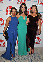 Saira Khan, Andrea McLean and Kelly Brook at the TV Choice Awards 2018, The Dorchester Hotel, Park Lane, London, England, UK, on Monday 10 September 2018.<br /> CAP/CAN<br /> &copy;CAN/Capital Pictures