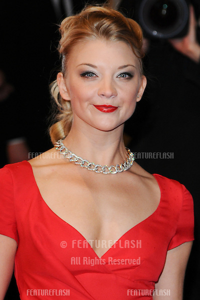 Natalie Dormer arriving for the BAFTA Film Awards 2011 at the Royal Opera House Covent Garden, London. 13/02/2011  Picture by: Steve Vas / Featureflash