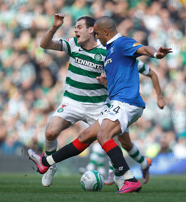 Madjid Bougherra puts his mark on Anthony Stokes