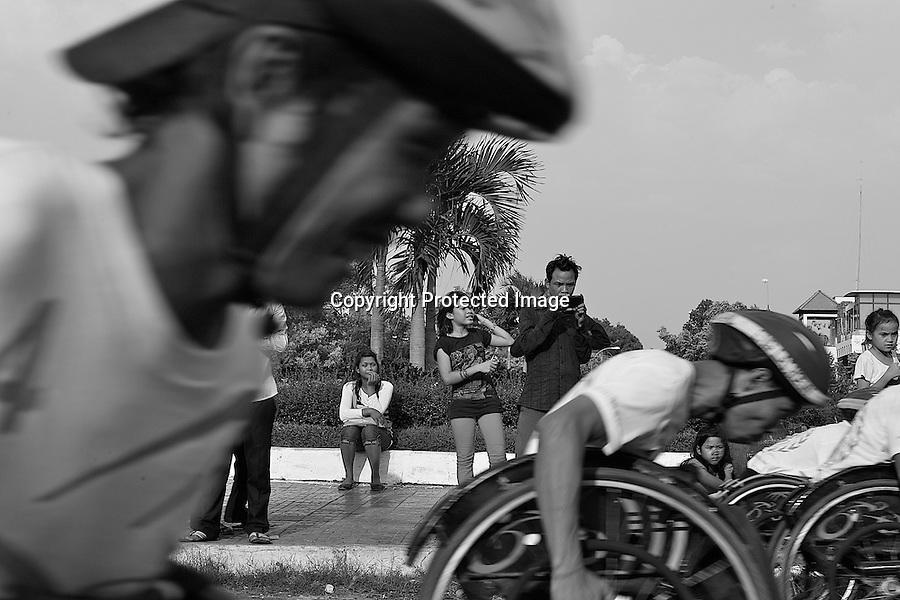 The race in Phnom Penh, Cambodia-2008