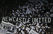 9th December 2017, St James Park, Newcastle upon Tyne, England; EPL Premier League football, Newcastle United versus Leicester City; The Gallowgate End celebrating Newcastle Uniteds 125th Anniversary