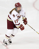Danielle Welch (BC - 17) is announced as a starter for the Eagles. - The Boston College Eagles defeated the visiting Northeastern University Huskies 2-1 on Sunday, January 30, 2011, at Conte Forum in Chestnut Hill, Massachusetts.