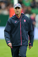 Manager Greg Cooper of Stade Francais during the Top 14 match between Pau and Stade Francais at  on September 30, 2017 in Pau, France. (Photo by Manuel Blondeau/Icon Sport)
