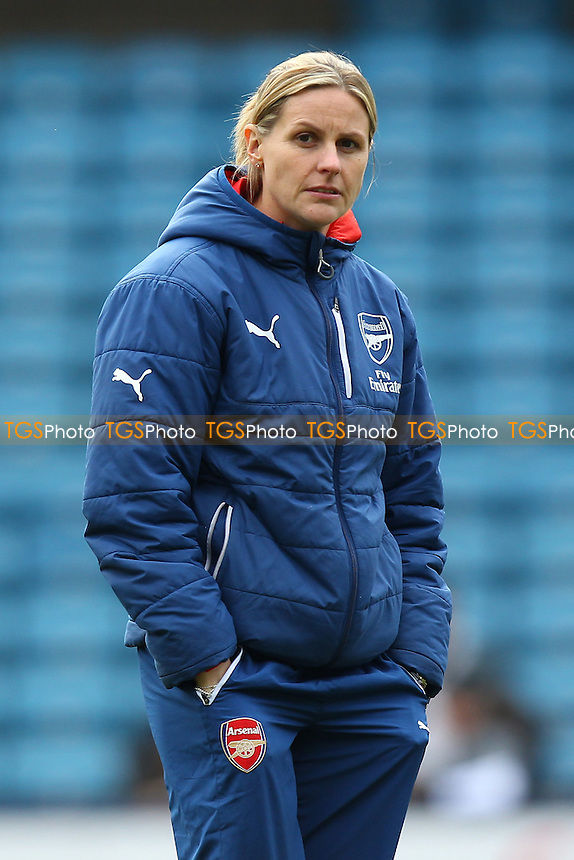 Kelly Smith of Arsenal Ladies - Millwall Lionesses vs Arsenal Ladies - FA Womens Challenge Cup 5th Round Football at the New Den, Bermondsey, London - 22/03/15 - MANDATORY CREDIT: TGSPHOTO - Self billing applies where appropriate - contact@tgsphoto.co.uk - NO UNPAID USE