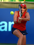 July 24, 2013  (Washington, DC)  Anastasia Rodionova during a match with the Boston Lobsters at Kastles Stadium in the District of Columbia July 24, 2013. (Photo by Don Baxter/Media Images International)