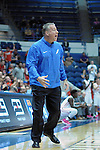 February 20, 2016 - Colorado Springs, Colorado, U.S. -   Air Force head coach, Dave Pilipovich, during an NCAA basketball game between the University of New Mexico Lobos and the Air Force Academy Falcons at Clune Arena, United States Air Force Academy, Colorado Springs, Colorado.    Air Force defeats New Mexico 76-72.