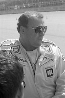 A.J. Foyt portrait Firecracker 400 at Daytona International Speedway in Daytona Beach, FL on July 4, 1983. (Photo by Brian Cleary/www.bcpix.com)