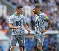 Blackburn Rovers' Darragh Lenihan (left) & Bradley Johnson (right) <br /> <br /> Photographer David Horton/CameraSport<br /> <br /> The EFL Sky Bet Championship - Reading v Blackburn Rovers - Saturday 21st September 2019 - Madejski Stadium - Reading<br /> <br /> World Copyright © 2019 CameraSport. All rights reserved. 43 Linden Ave. Countesthorpe. Leicester. England. LE8 5PG - Tel: +44 (0) 116 277 4147 - admin@camerasport.com - www.camerasport.com