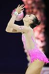 Salome Pazhava (GEO), OCTOBER 4, 2015 - Rhythmic Gymnastics : AEON CUP 2015 World wide R.G. Club Championships at Tokyo Metropolitan Gymnasium, Tokyo, Japan. (photo by Naoto Akasaka/AFLO)