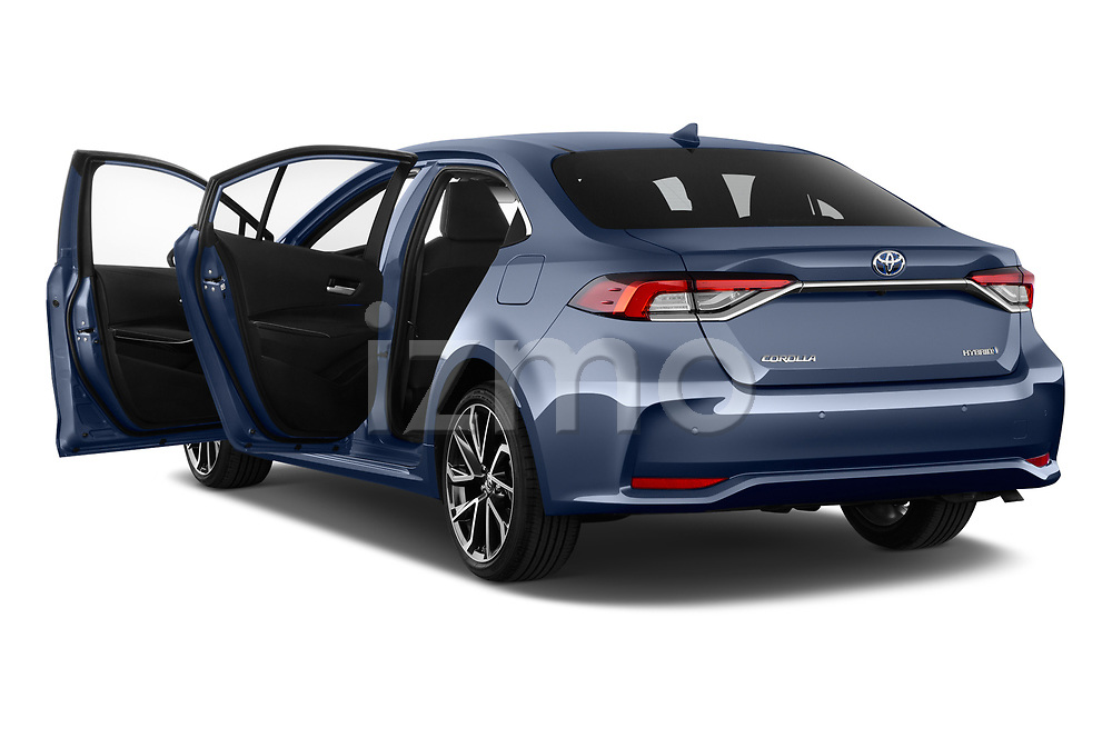 Car images close up view of a 2019 Toyota Corolla  Premium 4 Door Sedan doors