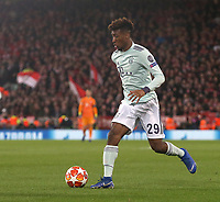 Bayern Munich's Kingsley Coman<br /> <br /> Photographer Rich Linley/CameraSport<br /> <br /> UEFA Champions League Round of 16 First Leg - Liverpool and Bayern Munich - Tuesday 19th February 2019 - Anfield - Liverpool<br />  <br /> World Copyright © 2018 CameraSport. All rights reserved. 43 Linden Ave. Countesthorpe. Leicester. England. LE8 5PG - Tel: +44 (0) 116 277 4147 - admin@camerasport.com - www.camerasport.com