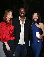 LOS ANGELES, CA - NOVEMBER 4: Josie Davis, Roger Cross, Emmanuelle Vaugier, at The 2017 Fluffball Benefiting Forgotten Horses Rescue! at The Lombardi House In Los Angeles, California on November 4, 2017. Credit: Faye Sadou/MediaPunch