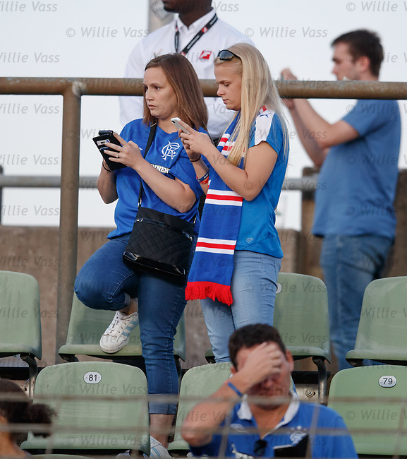 Heartbreak for Rangers fans at full time