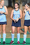 09 October 2015: North Carolina's Mackenzie Mick. The University of North Carolina Tar Heels hosted the Longwood University Lancers at Francis E. Henry Stadium in Chapel Hill, North Carolina in a 2015 NCAA Division I Field Hockey match. UNC won the game 8-1.