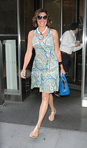 NEW YORK, NY-August 10: Countess LuAnn de Lesseps at SiriusXM in New York. NY August 10, 2016. Credit:RW/MediaPunch