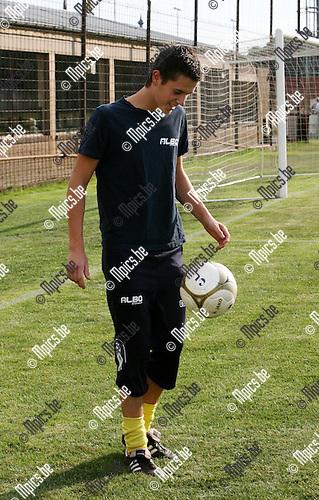2010-07-22 / Seizoen 2010-2011 / Voetbal / KFC De Kempen / Tom Broeckx..Foto: mpics