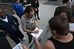 Jonathan Davis signing autographs before Korn played Peabody Opera House May 25th, 2013.