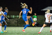 Allston, MA - Saturday Sept. 24, 2016: Kristie Mewis during a regular season National Women's Soccer League (NWSL) match between the Boston Breakers and the Western New York Flash at Jordan Field.