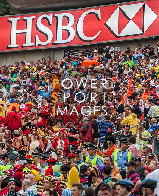 Hong Kong  vs Italy during the Cathay Pacific / HSBC Hong Kong Sevens at the Hong Kong Stadium on 29 March 2014 in Hong Kong, China. Photo by Victor Fraile / Power Sport Images