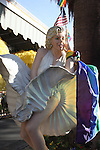 Marilyn Monroe statue in Palm Springs