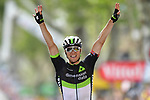 Edvald Boasson Hagen (NOR) Team Dimension Data wins solo Stage 19 of the 104th edition of the our de France 2017, running 222.5km from Embrun to Salon-de-Provence, France. 21st July 2017.<br /> Picture: ASO/Alex Broadway | Cyclefile<br /> <br /> <br /> All photos usage must carry mandatory copyright credit (&copy; Cyclefile | ASO/Alex Broadway)