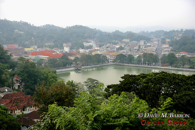 View of Kandy From Hillside