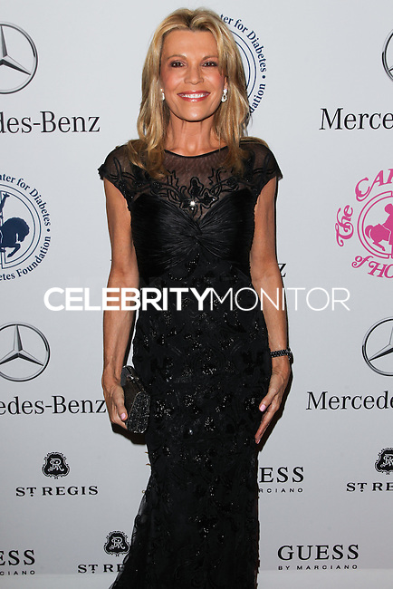 BEVERLY HILLS, CA, USA - OCTOBER 11: Vanna White arrives at the 2014 Carousel Of Hope Ball held at the Beverly Hilton Hotel on October 11, 2014 in Beverly Hills, California, United States. (Photo by Celebrity Monitor)
