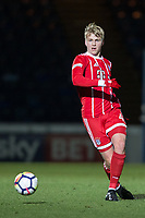 Felix Gotze of Bayern Munich II during the Premier League International Cup match between Reading U23 and Bayern Munich II at the Adams Park, Wycombe, England on 8 December 2017. Photo by Andy Rowland.
