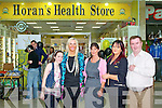 GRAND OPENING: The staff of the new Dan Horan Health Food Store at Manor West shopping centre on Friday l-r: Grannie Linnane, Sandra Breen, Nina Mansfield, Kay Hurley and Dan Horan.