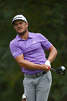 Sebastian Cappelen (DEN) watches his tee shot on 11 during round 4 of the 2019 Houston Open, Golf Club of Houston, Houston, Texas, USA. 10/13/2019.<br /> Picture Ken Murray / Golffile.ie<br /> <br /> All photo usage must carry mandatory copyright credit (© Golffile | Ken Murray)