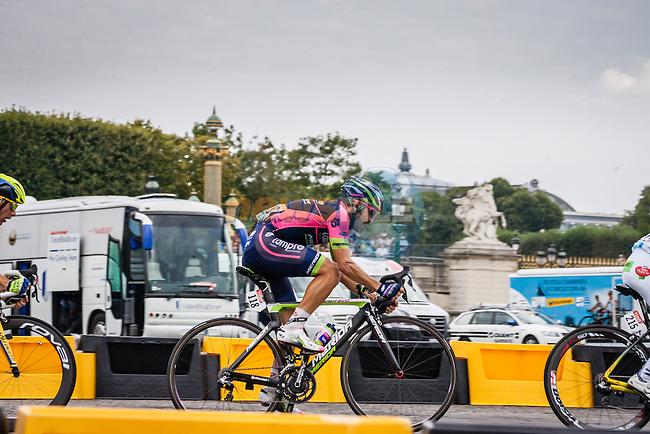 Jose Rodolfo Serpa (COL) of Lampre-Merida, Tour de France, Stage 21: Évry > Paris Champs-Élysées, UCI WorldTour, 2.UWT, Paris Champs-Élysées, France, 27th July 2014, Photo by Pim Nijland