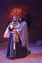 Theatre Accord, in association with Tara Arts, presents PARADISE OF THE ASSASSINS, based on a novel by Abdul Halim Sharar, adapted and directed by Anthony Clark. Design is by Matilde Marangoni. This production marks the opening of the new Tara Theatre. Picture shows: Skye Hallam (Zamurrud), Asif Khan (Hussain)