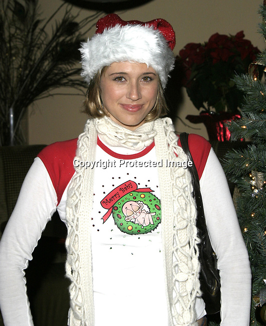 Kristen Miller<br />The QT Line Launch and Charity Event<br />Club Level One<br />Beverly Hills, CA, USA<br />Sunday, December 7,  2003<br />Photo By Celebrityvibe.com /Photovibe.com
