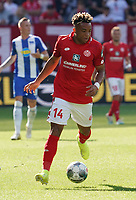 Pierre Kunde Malong (1. FSV Mainz 05) - 14.09.2019: 1. FSV Mainz 05 vs. Hertha BSC Berlin, 4. Spieltag Bundesliga, OPEL Arena<br /> DISCLAIMER: DFL regulations prohibit any use of photographs as image sequences and/or quasi-video.