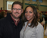 Garrett and Sonya Green during the Jack T. Reviglio Cioppino Feed & Auction at the Donald W. Reynolds Facility in Reno on Saturday, February 25, 2017.