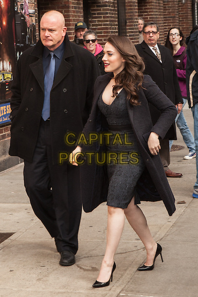 NEW YORK, NY -  FEBRUARY 25: Kat Dennings visits the Late Show With David Letterman on February 25, 2014 in New York City, NY., USA.<br /> CAP/MPI/COR<br /> &copy;Corredor99/ MediaPunch/Capital Pictures