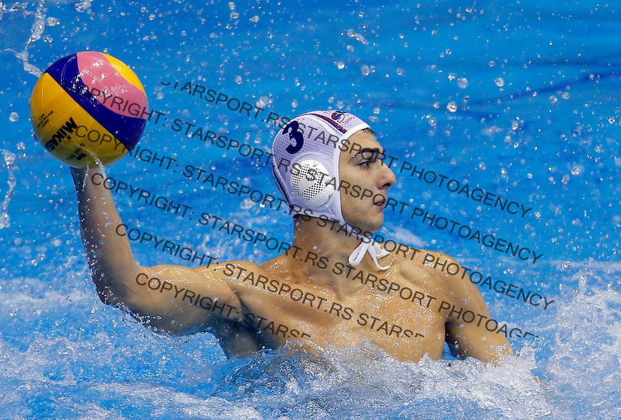 Vaterpolo svetska liga Srbija - Francuska, world league waterpolo, Serbia - France Oktobar 20. 2015 Beograd, Srbija, 20.10.2015.  (credit image & photo: Pedja Milosavljevic / STARSPORT)