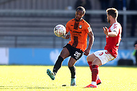 Mauro Vilhete of Barnet and Conor McAleny of Fleetwood Town during Barnet vs Fleetwood Town, Emirates FA Cup Football at the Hive Stadium on 10th November 2019