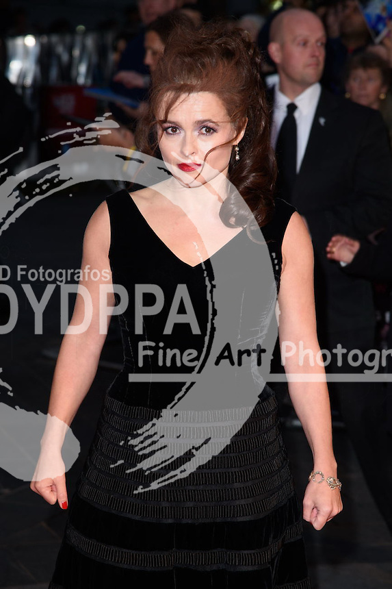 Helena Bonham Carter<br /> attends the &quot;Suffragette&quot; premiere which is the opening gala of the London Film Festival 2015, Odeon Leicester Square, London<br /> <br /> &copy;Ash Knotek  D3022  07/10/2015