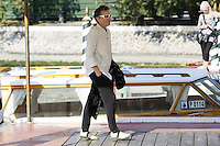 Laurie Anderson arrives at the Darsena to attend the 72nd Venice Film Festival at the Excelsior Hotel in Venice, Italy, September 11, 2015.<br /> UPDATE IMAGES PRESS/Stephen Richie