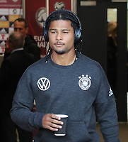 Serge Gnabry (Deutschland Germany) - 09.09.2019: Nordirland vs. Deutschland, Windsor Park Belfast, EM-Qualifikation DISCLAIMER: DFB regulations prohibit any use of photographs as image sequences and/or quasi-video.