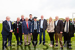 At the Ballyheigue Athletic rally in support of local soccer pitch on Sunday were Pictured l-r Tom Fleming, TD,  Denis Guerin, KDL, Michael Leane, Ballyheigue AFC, Teddy Healy, Ballyheigue AFC, Brendan Griffin TD, Michael Healy Ray, TD, Martin Ferris, TD, Toireasa Ferris, Cllr,  Jimmy Browne (White Sands Hotel), John O'Regan, KDL,